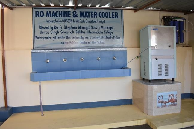 Inauguration of the RO machine and Water Cooler...